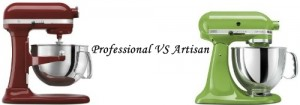 KitchenAid Professional 600 VS Artisan